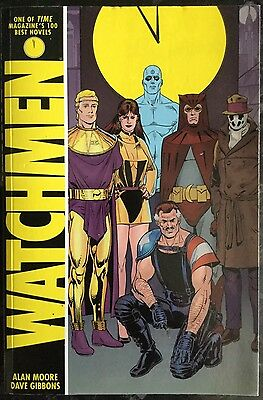 Watchmen By Alan Moore And Dave Gibbons - Graphic Novel