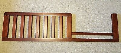 Bonavita toddler bed rail SHEFFIELD Lifestyle Rustic Cherry RARE DISCONTINUED