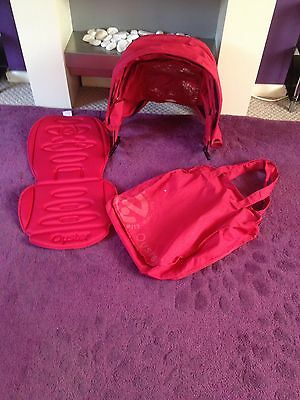 Tomato red Oyster 1 Stroller Colour Pack