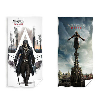 Assassin's Creed Syndicate Ubisoft Badetuch Strandtuch Duschtuch 70 x 140 cm