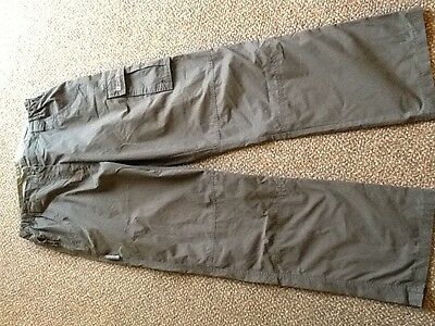 Mountain Warehouse outdoor walking trousers size 12 brown