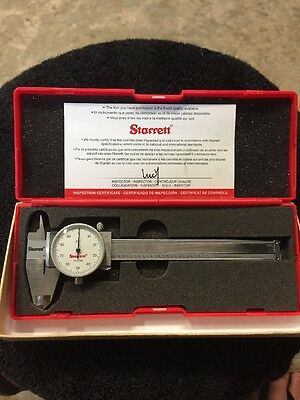 Starrett dial calipers