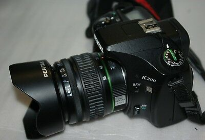 *PENTAX K200D DIGITAL* + LENS SMC DA A:3.5-5.6 18-55mm AL