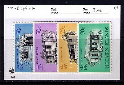 PITCAIRN ISLANDS Stamps,Island Homes Sc# 285-8 Cpl. MNH Set