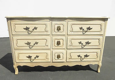 Vintage French Provincial Triple DRESSER by CHATEAU PROVINCIAL