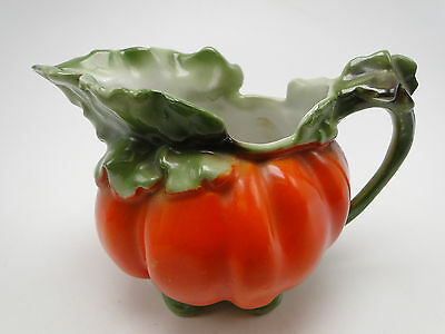 Royal Bayreuth 3in Tomato Pattern Creamer Pitcher