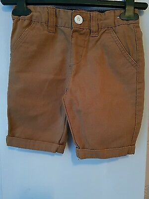 Brown shorts Age 3 to 4 years