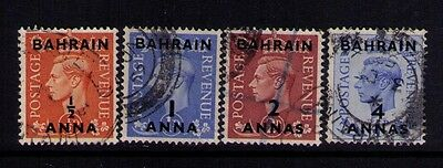 Bahrain Stamps SC # 72;73;75;77 Used