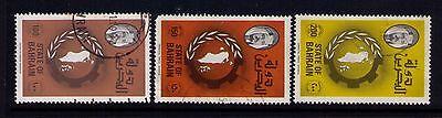 Bahrain Stamps SC # 232-34 Used