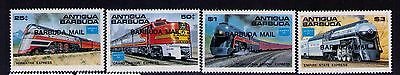 Antigua and Barbuda Stamps Trains SC #804-7 MNH