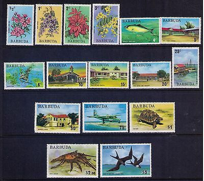 Barbuda Stamps  SC #170-80;182-6   MNH Cat.$28