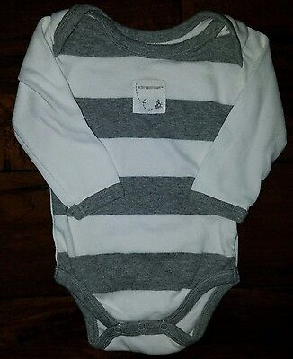BURTS BEES BABY Boy Girl Long Sleeve Top Size 0-3 Months