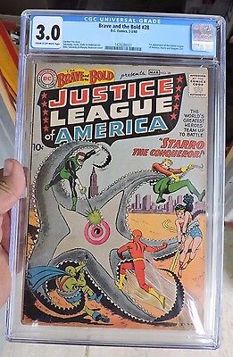 Brave & Bold, Justice League of America #28, CGC 3.0, 1st Appearance, Comic Book