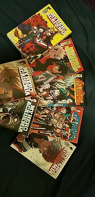 My Hero Academia Volume 1-7 collection