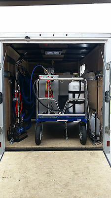 Carpet Cleaning Portable Truckmount w/Trailer and Supplies (Full Setup!)