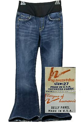 Citizens of Humanity Maternity Jeans Size 27 Blue Boot Cut Low Rise 32 Inseam