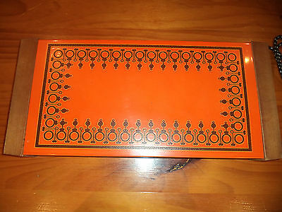 VINTAGE RETRO 1970s  SPEEDIE ORANGE PLATE  WARMER- WORKING