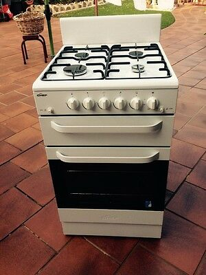 Chef Latest Model Natural Gas Upright Stove 54cm Wide As New