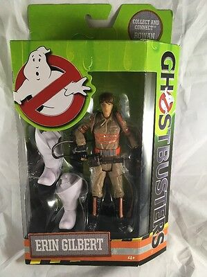 """Ghostbusters Erin Gilbert Action Figure NEW 2016 Set Collection 1/4 Of Rowan 6"""""""