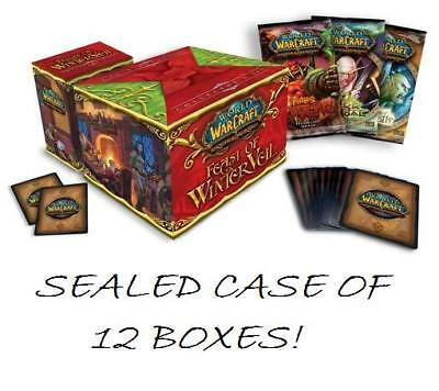WORLD OF WARCRAFT TCG - Feast of Winter Veil Cards Sealed Case (12) #NEW