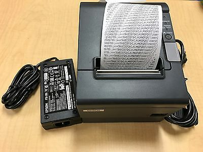 Epson TM-T88IV Parallel M129H POS Thermal Printer w/ Power Adapter