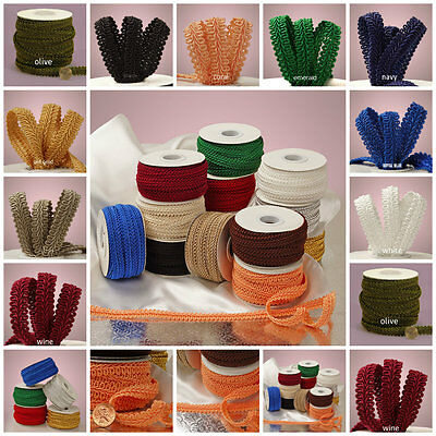Gimp Braid Trim 1/2 inch wide select color price for 1 yard