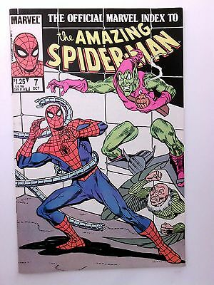 Marvel Index To Amazing Spiderman #7 (Huge Auction Going On Now)