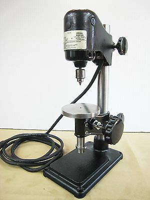 "Dumore Jewelers Precision Drill Press 0-5/32"" Chuck 17,000 Rpm Model No.8576"