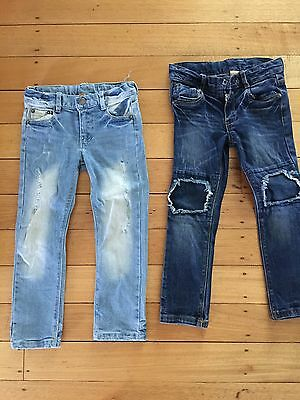 Rock Your Baby Jeans Size 5 - 2 Pairs In Immaculate Condition