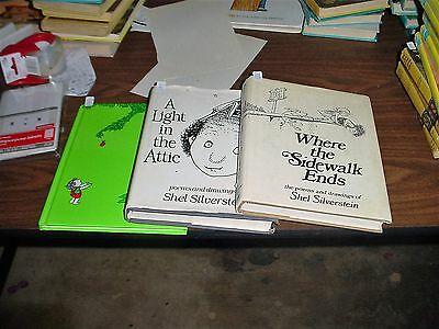 Where the Sidewalk Ends, A Light in the Attic, Giving Tree by Shel Silverstein