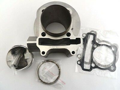 172cc 61mm Big Bore Cylinder Kit for 150cc GY6 Chinese Scooters 152qmi 157qmj