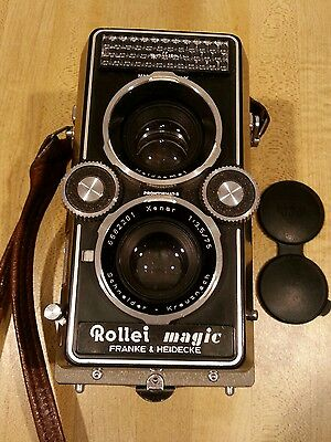 Rolleiflex Rollei Magic 1 with Cap, Case and Strap