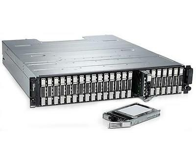 DELL PS6100XS EQUALLOGIC STORAGE ARRAY 17 x 600GB 10K 7 x 400GB SSD Dual Control
