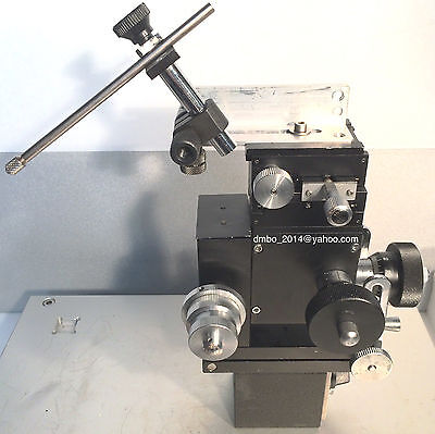 Narishige MX-4R Patch Clamp 3-Axis Coarse/Fine Micromanipulator on Magnetic Base