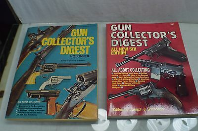 Lot of 2 Gun Collector's Digest Volume 2 and 5th Edition