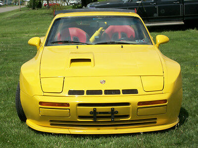Porsche 944 NA and Turbo and S2  Fiberglass Front Spoiler, Splitter