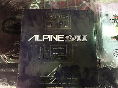 Alpine 5955 Cd Changer Control System Very Rare Brand New Never Used!