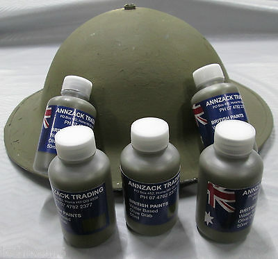WW1 WW2 British Australian  Olive drab paint