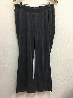 Motherhood Maternity Women's Large Pants Grey Soft Lounge Casual Sweatpants