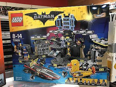 NEW LEGO The Batman Movie: Batcave Break-in 70909 Brand New Sealed