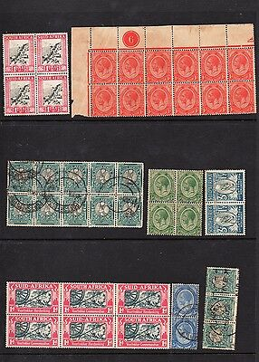 SOUTH AFRICA - Block Stamps - Some MINT/UNHINGED