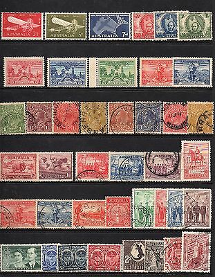 AUSTRALIAN - Early Pre-Decimal including some MINT Stamps