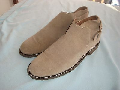 WALNUT MELBOURNE  Lovely Leather/Suede Ankle Boots/Shoes Size 8.5 (39)