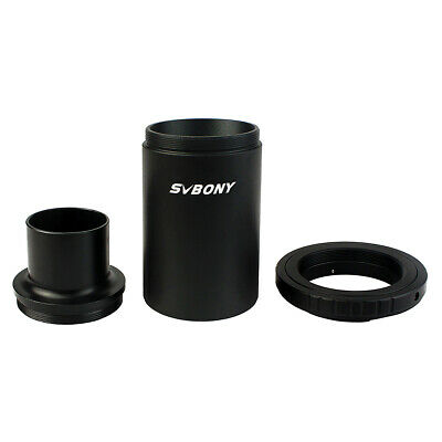 "US 1.25"" M42 Thread T-Mount Adapter+T2 Ring for Nikon DSLR/SLR Micro/Telescope"