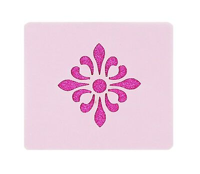 Decor Flower Face Painting Stencil 7cm x 6cm 190micron Washable Reusable