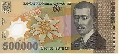 ROMANIA - UNC Note - 500,000 Lei