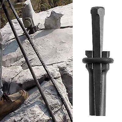 9/16'' Plug Wedges and Feather Shims Rock Stone Concrete Splitter Hand Tool