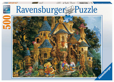 Ravensburger 14112 - College of Magical Knowledge, 500 Teile Puzzle