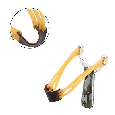 Powerful Pro HOT Alloy Handle Sling Outdoor Catapult Hunting Slingshot Game