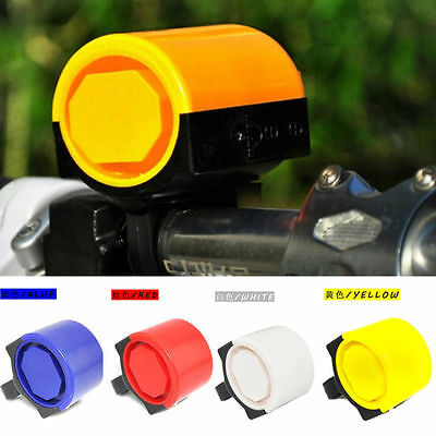 Electronic Bicycle Bike Cycling Alarm Loud Bell Horn Powered By Battery DRUK